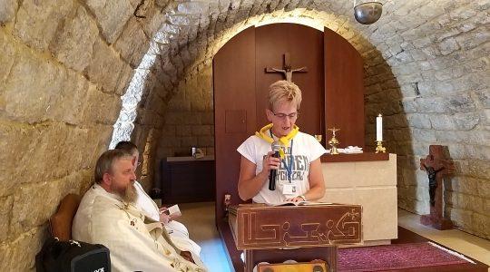 Msza Święta w Annaya (25.09.2019)