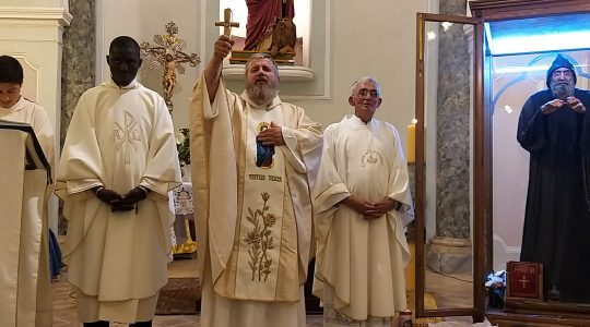 Św. Charbel obdarza nas hojnie (28.09.2019)