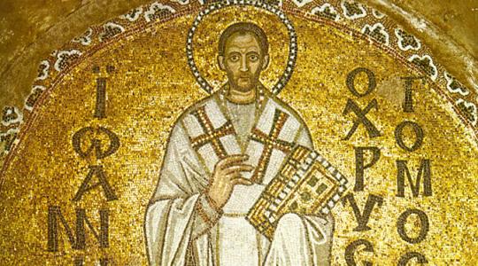 Święty Jan Chryzostom, biskup i doktor Kościoła (13.09.2019)