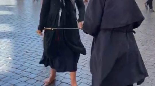 Bójka na Placu św. Piotra  (10.09.2019)