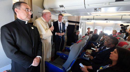 Papież powrócił z pielgrzymki do Afryki (11.09.2019)