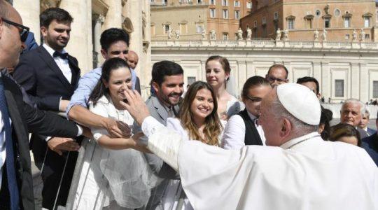 Audiencja generalna Ojca Świętego Franciszka (Vatican Service News - 18.09.2019)