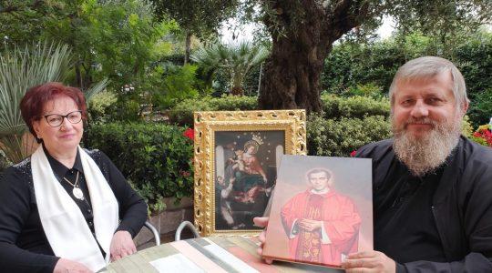 Ksiądz Jarek rozpoczyna rekolekcje we Włoszech (18.10.2019)