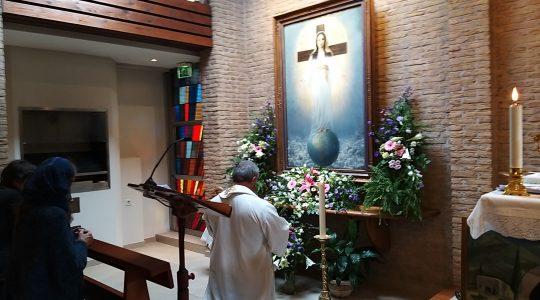Modlitwa w kaplicy Matki Bożej Pani Wszystkich Narodów   (11.10.2019)