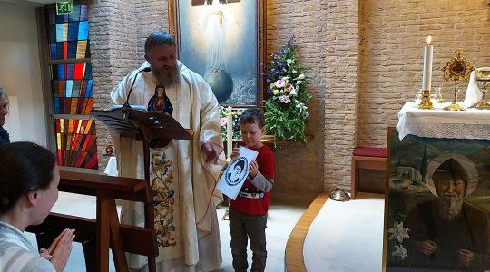Noe służył do Mszy św. po raz pierwszy  (11.10.2019)