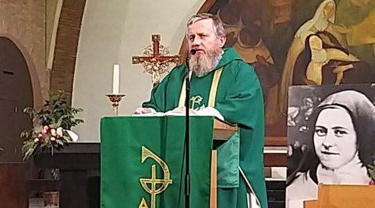 Kazanie księdza Jarka w Antwerpii (14.10.2019)