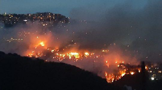 Groźne pożary wybuchają w Libanie  (16.10.2019)