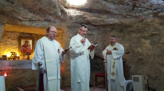Msza św. w Maghdouche  (3.10.2019)