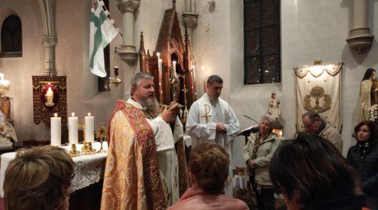 Msza św. w Arlon  (9.10.2019)