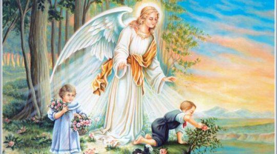Preghiera di ringraziamento  di padre Jarek ad Angelo Custode (2.10.2019)