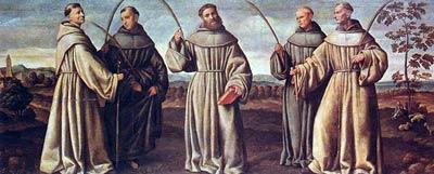 Święci męczennicy Daniel i Towarzysze (10.10.2019)