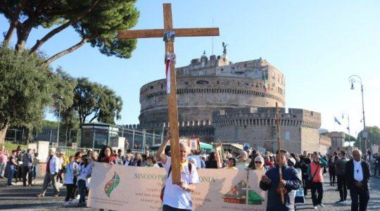 Droga Krzyżowa za Amazonię (Vatican Service News - 19.10.2019)