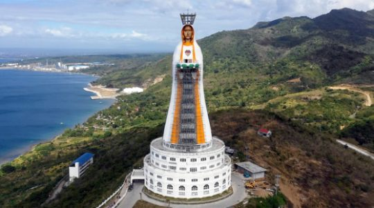 Posąg Maryi będzie miał prawie 100 metrów wysokości (15. 10. 2019)