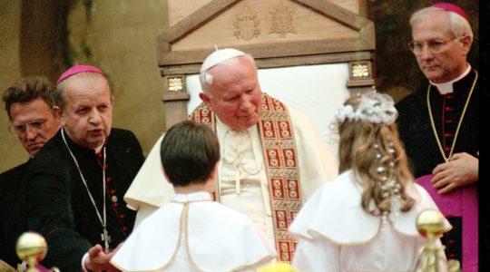 Wspominamy św. Jana Pawła II  (13.11.2019)