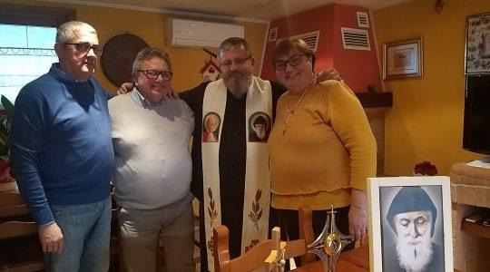 Spotkania w Domach Modlitwy na północy Włoch  (10. 11. 2019)