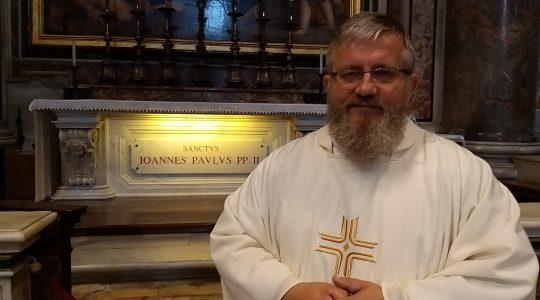 Modlitwa przy grobach Papieży (13.11.2019)