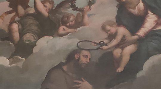 Św. Vicinio mówił, że jest w niewoli Boga  (15.11.2019)