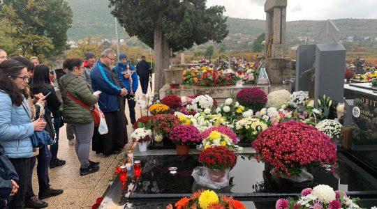 Włoscy pielgrzymi wracają z Medjugorie  (3.11.2019)