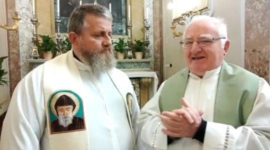 Rozmowa z kapłanem z Sarsiny  (15.11.2019)