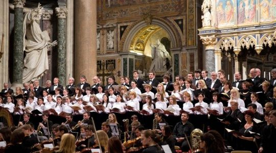 Sympozjum na temat muzyki sakralnej (Vatican Service News - 07.11.2019)