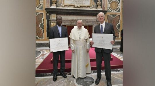 Rozdano tegoroczne nagrody Ratzingera (Vatican Service News - 09.11.2019)