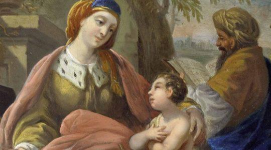 Święci Elżbieta i Zachariasz, rodzice św. Jana Chrzciciela (5.11.2019)