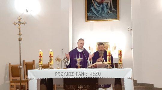 Msza św. w kraśnickiej parafii   (6.12.2019)