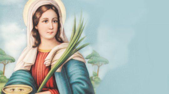 Święta Łucja, dziewica i męczennica (13.12.2019)