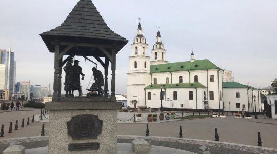 W dawnym Mińsku Litewskim (31.12.2019)