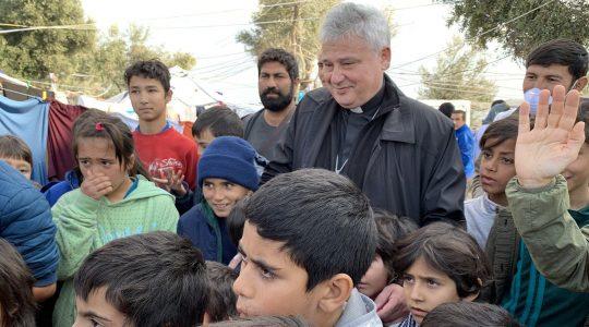 Kardynał Krajewski po powrocie z Lesbos (Vatican Service News - 05.12.2019)