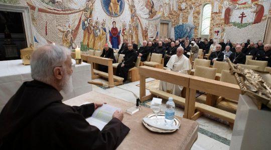 Adwentowe skupienie dla Ojca Świetego i pracowników Kurii Rzymskiej (Vatican Service News - 07.12.2019)