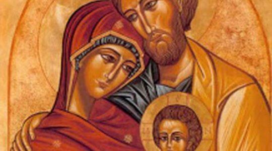 ŚWIĘTO ŚWIĘTEJ RODZINY: JEZUSA, MARYI I JÓZEFA (29.12.2019)