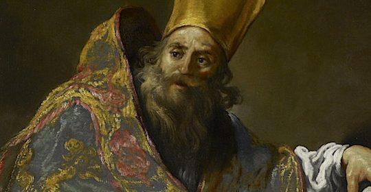 Święty Ambroży, biskup i doktor Kościoła