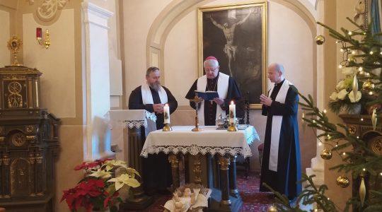 Kolęda w Domu Biskupów  (5.01.2020)