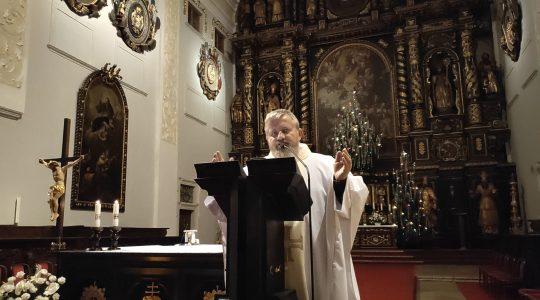 Ks. Jarosław w Trnawie wspominał bp. Hnilicę   (3.01.2020)
