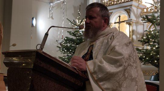 Kazanie wygłoszone w Konstantynowie Łódzkim  (13.01.2020)