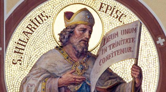 Święty Hilary z Poitiers, biskup i doktor Kościoła (13.01.2020)