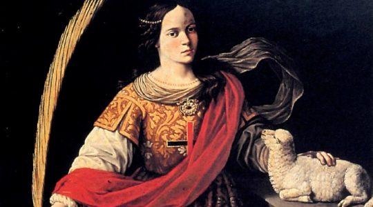 Święta Agnieszka, dziewica i męczennica (21.01.2020)