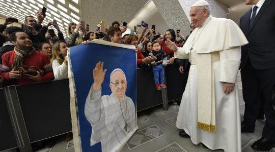 Pozdrowienia dla Polaków od Ojca Świetego Franciszka(Vatican Service News - 15.01.2020)