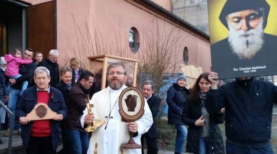 Świadectwo i modlitwa w intencji księdza Jarosława (22.02.2020)