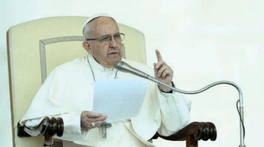 Audiencja Generalna Ojca Świętego Franciszka ( 12.02.2020)