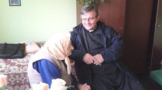 Panią Leosię znali wszyscy w papieskiej parafii   (21.02.2020)
