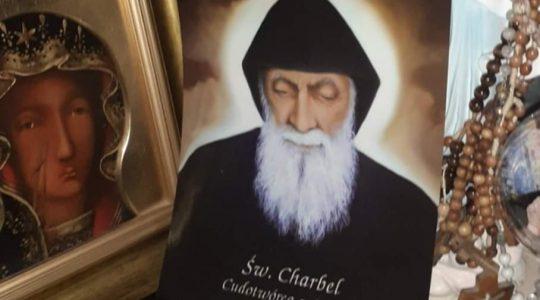 Święty Charbel ma do mnie cierpliwość-świadectwo (24.02.2020)