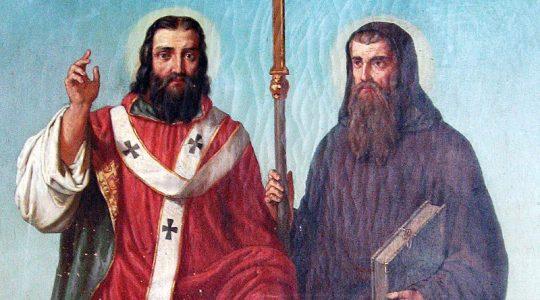 Święci Cyryl, mnich, i Metody, biskup patroni Europy (14.02.2020)