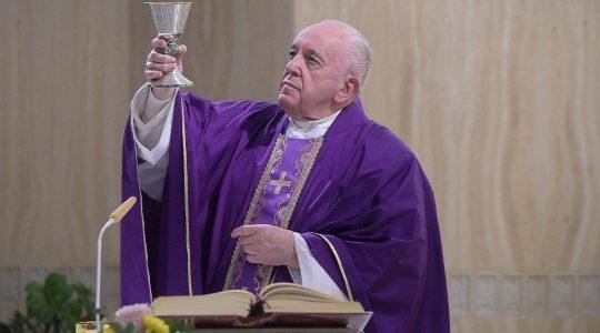 Papież Franciszek przeziębiony (29.02.2020)