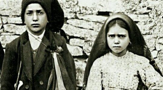 Święci Franciszek i Hiacynta Marto, dzieci fatimskie (20.02.2020)