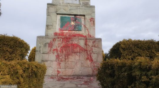 Profanacja krzyża na wzgórzu Trzy Lipki(Vatican Service News - 03.02.2020)