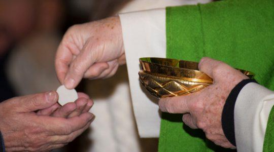 Komunia Święta na rękę  (29.02.2020)