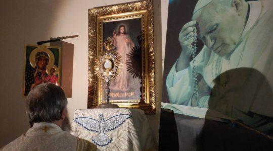 Adorazione Eucaristica-Adoracja Eucharystyczna (19.03.2020)