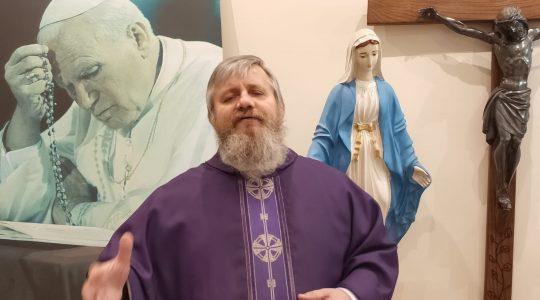 Transmisja z Mszy Świętej (18.03.2020)